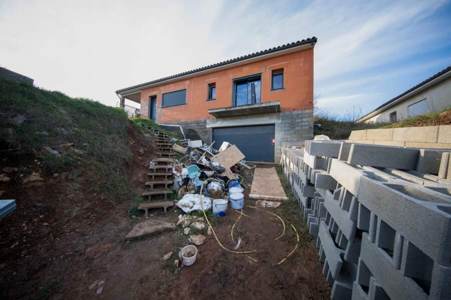 La maison de Cédric et Delphine Jubillar à Cagnac-les-Mines dans le Tarn