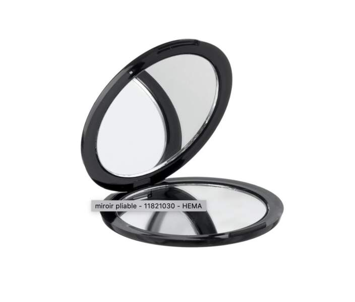 Un miroir pliable