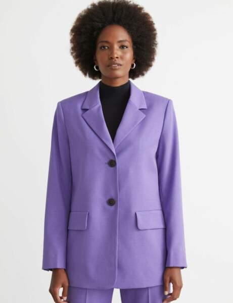 Blazer tendance : violet