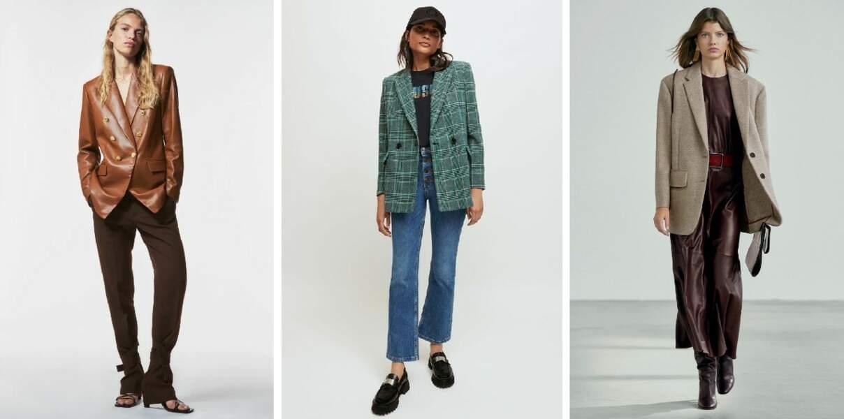 Quoi de neuf au rayon blazers et petites vestes ?