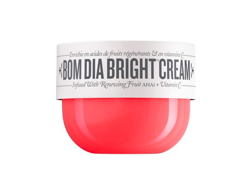 La crème bom dia bright Sol de Janeiro