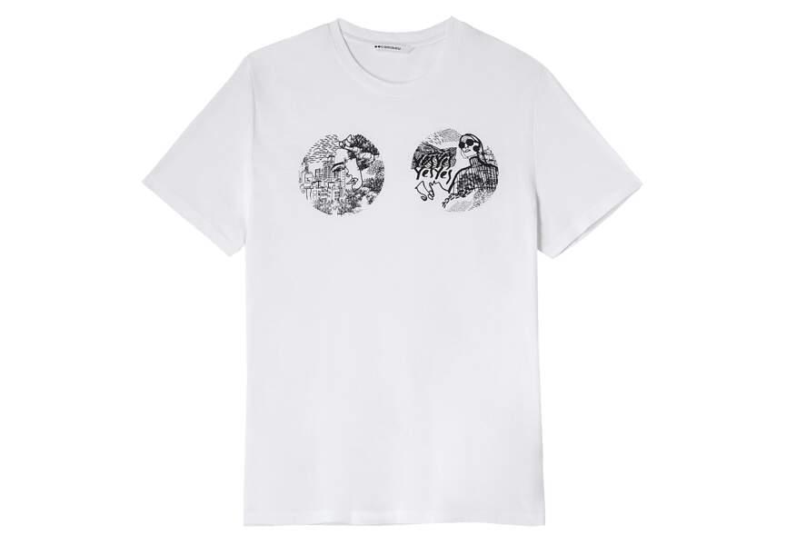 Octobre Rose : le tee-shirt de Camaïeu