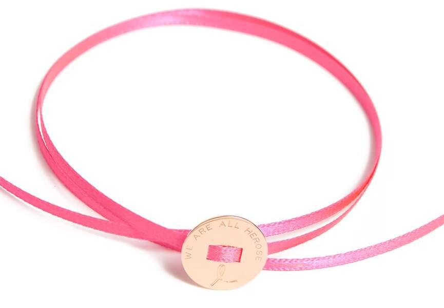 Octobre Rose : le bracelet La Môme Bijou