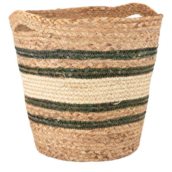Panier en fibre végétale