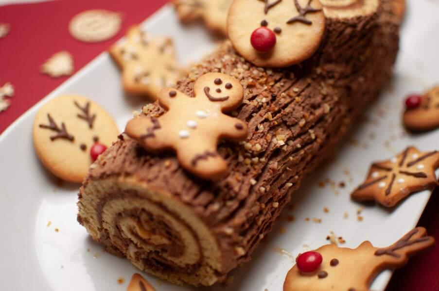 Nos savoureuses idées de bûches de Noël