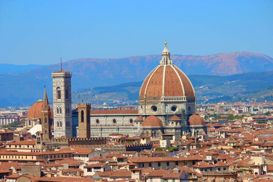 La cathédrale Santa Maria del Fiore et son dôme