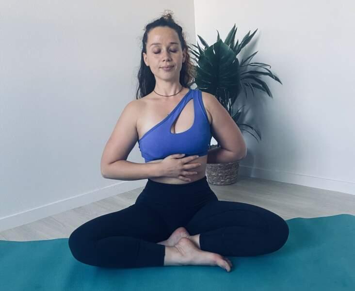 L'exercice de centrage et respiration