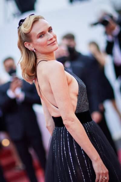 Diane Kruger et sa demi-queue