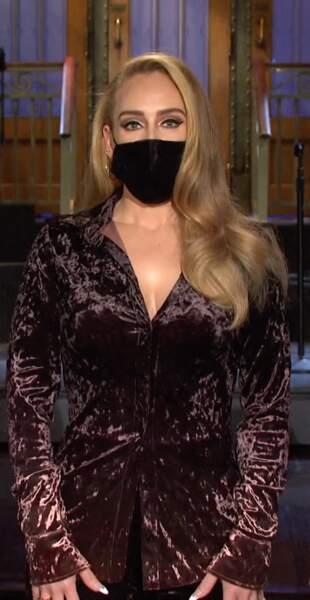 Adele en 2020 au Saturday night live