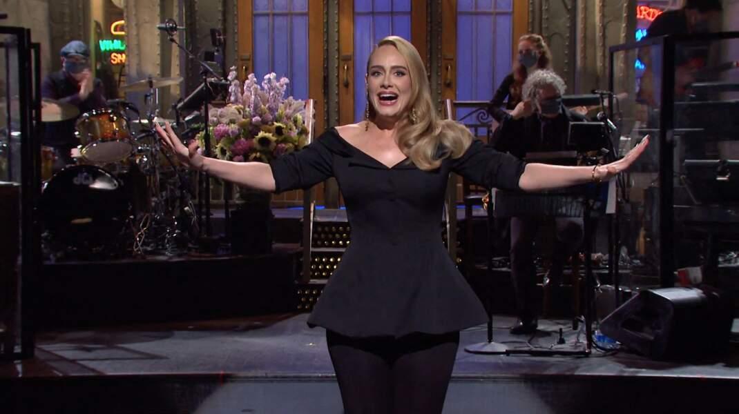 Adele à 32 ans, en 2020