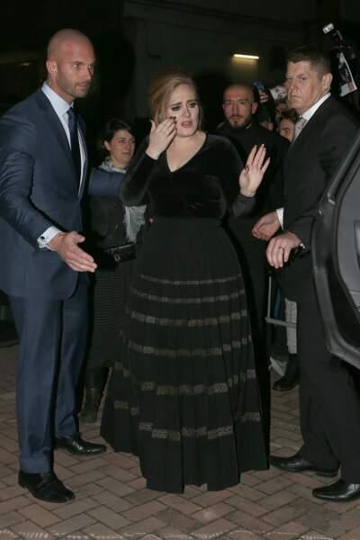 Adele en décembre 2015