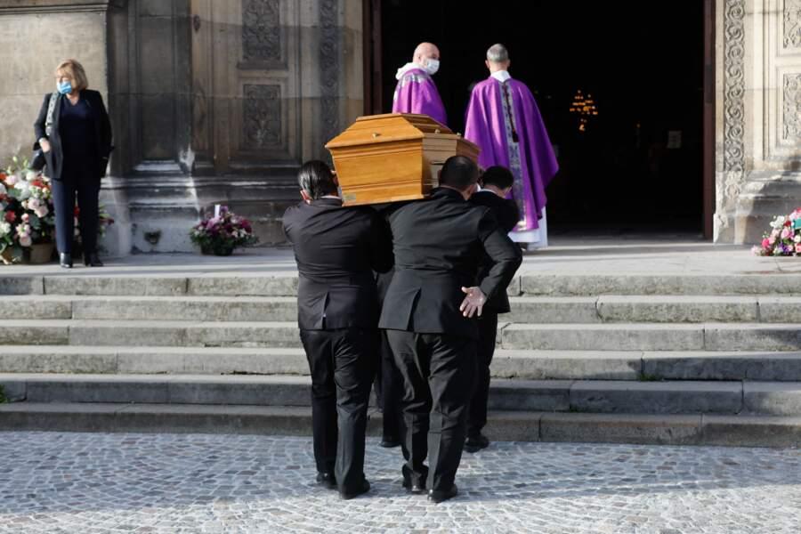 Obsèques d'Etienne Mougeotte