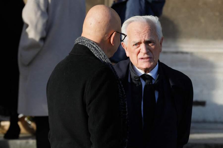 Philippe Labro a dit adieu à Etienne Mougeotte