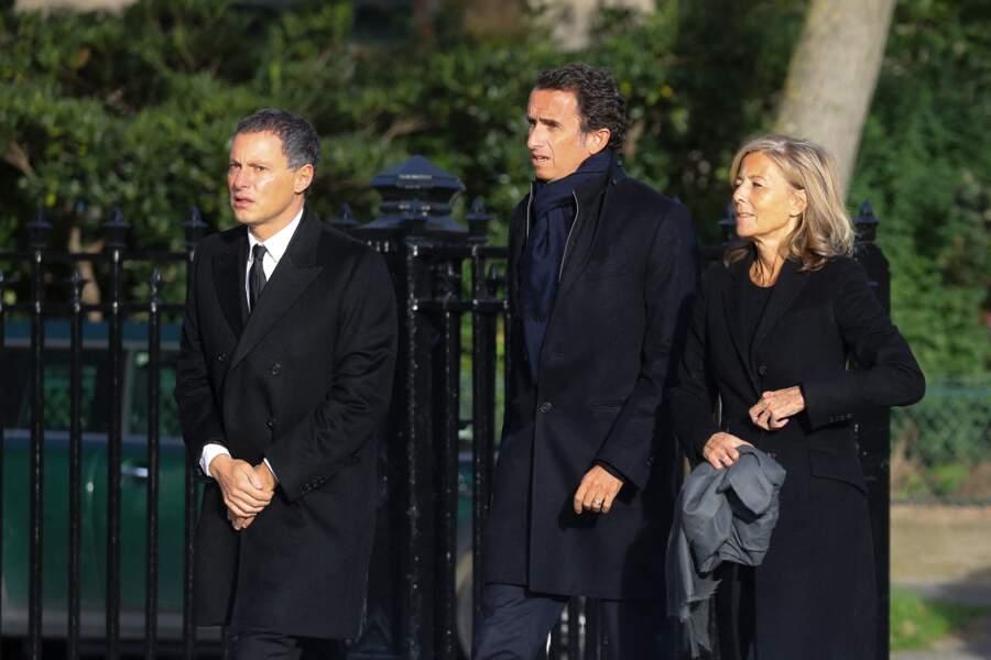 Marc-Olivier Fogiel et Claire Chazal ont dit adieu à Etienne Mougeotte