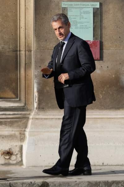 Nicolas Sarkozy a dit adieu à Etienne Mougeotte