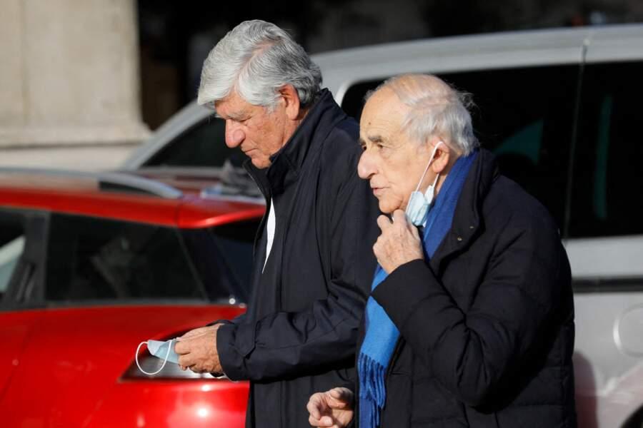 Maurice Levy et Jean-Pierre Elkabbach ont dit adieu à Etienne Mougeotte