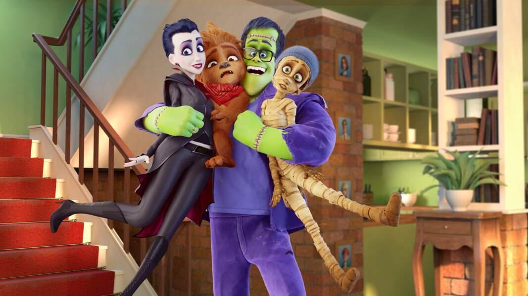 """Regardez le film """"Une famille monstre"""" en 3D"""