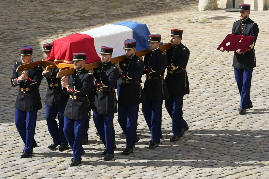 L'hommage nationale dédié à Jean-Paul Belmondo