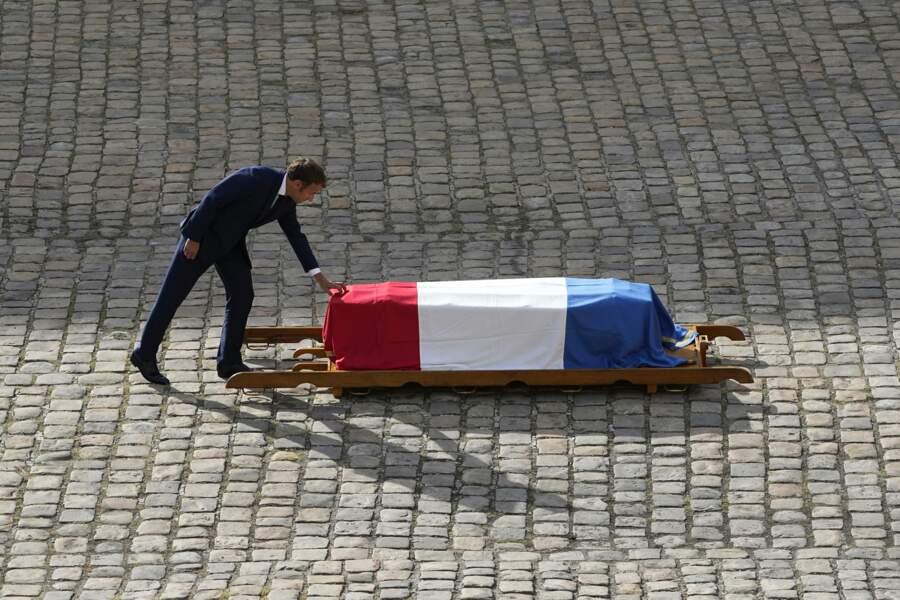 L'hommage nationale à Jean-Paul Belmondo aux Invalides